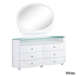 Emily/ Evelyn High Gloss 6 drawer Dresser