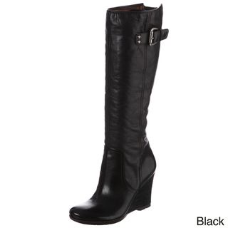 Naya Womens Quail Knee high Zipper Detail Boots FINAL SALE