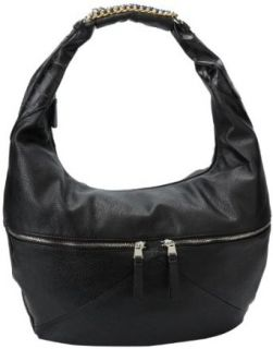Jessica Simpson Fearless Large Hobo,Black,One Size