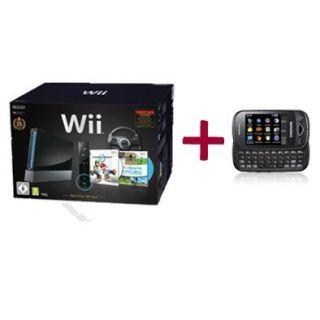 Pack Wii Noire Mario Kart + SAMSUNG B3410 Noir   Achat / Vente PACK ET