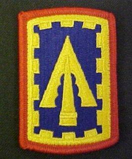 108th ADA (Air Defense Artillery) Full Color Dress Patch