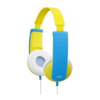 JVC   Casque enfant KD5   bleu/jaune   Transducteur  30 mm  Type d