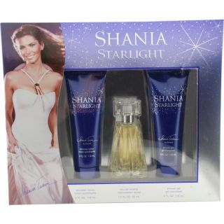 Shania Twain Shania Starlight Womens Three piece Fragrance Set