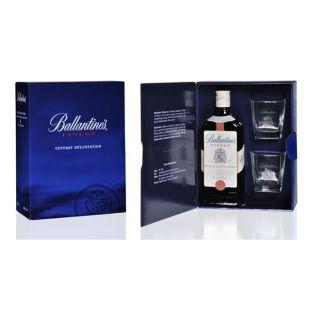 Ballantines Coffret 2 verres (70cl)   Scotch Whisky Blend   Ecosse