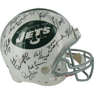 Steiner Sports Autographed 1969 Jets Team Signed NFL Throwback Helmet