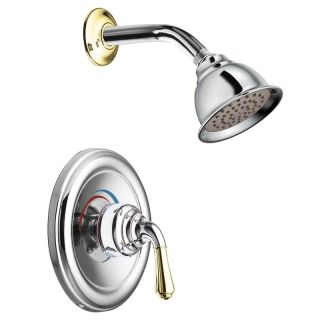 Moen Chrome/Polished Brass Posi Temp Shower Only Today $130.99