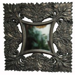 Bronze Traditional Decorative Square Framed Mirror Today $169.99 5.0
