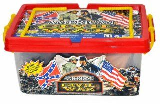 Civil War Army action figure Playset with Over 100 Pieces
