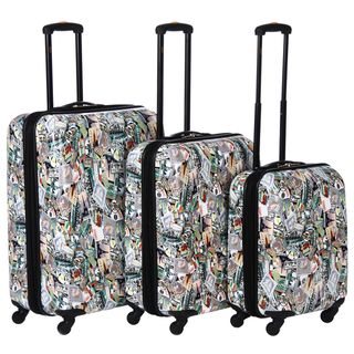 Lucas World Tour Three piece Luggage Set