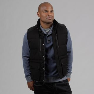 Calvin Klein Mens Black Puffer Vest