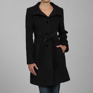 Via Spiga Womens Cashmere/ Wool Blend Coat
