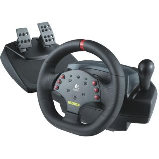 Logitech MOMO Force Feedback Racing Wheel for PC/MAC (Refurbished