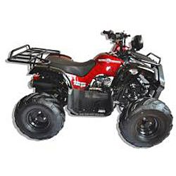 Trailrover Red 125cc Automatic Transmission ATV