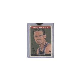 Jerry West (Trading Card) 2009 Sportkings #113 Collectibles