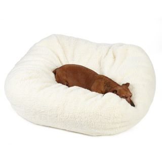 Sweet Dreams Medium Sherpa Pet Bed