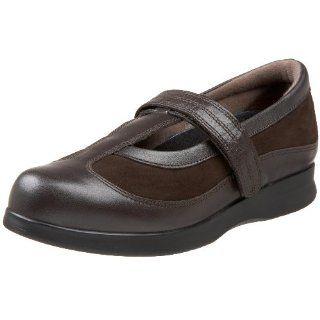 Shoe Womens Desiree Flat,Brown Calf/Brown Nubuck,9 N (AA) US Shoes