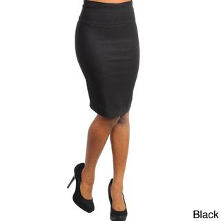 Stanzino Womens High waist Pencil Skirt