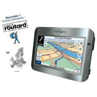Mappy ITI V2 Europe Guide Routard   Achat / Vente GPS AUTONOME Mappy