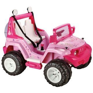 Mini Jeep Electrique Enfant Rose   Achat / Vente VEHICULE ENFANT Mini