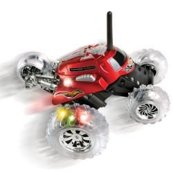 Blue Hat Remote Control Monster Spinning Car