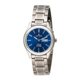 Sartego Mens SNT113 Barcelona Japanese Quartz Movement Watch: Watches