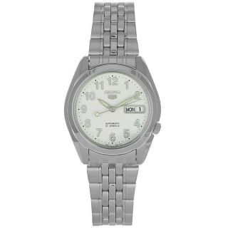 Seiko Mens 21 Jewels Automatic Stainless Steel Watch