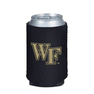 Wake Forest Demon Deacons Black Collapsible Can Coolie