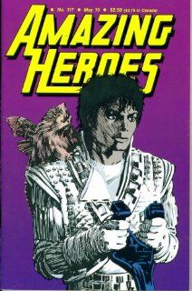 Amazing Heroes #117  Michael Jacksons Captain Emo (Fantagraphics