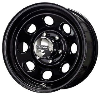 Unique Wheel 297 Black Wheel (15x10/5x114.3mm)
