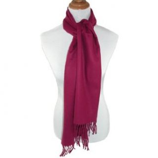David & Young Womens Winter Solid Scarf Clothing