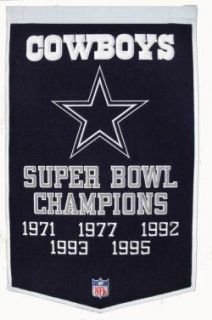 Dallas Cowboys NFL Superbowl Championship Banner