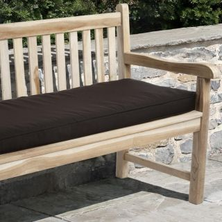 Clara 60 inch Outdoor Brown Bench Cushion with Sunbrella Fabric