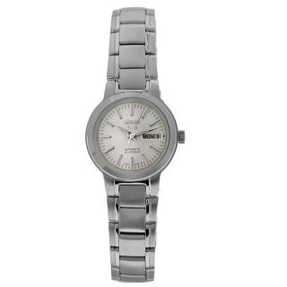 Seiko Womens 21 Jewels Automatic Stainless Steel Watch