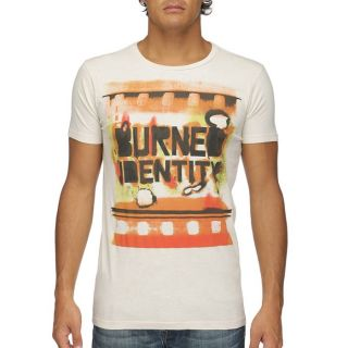 DIESEL T Shirt Homme Beige, orange et marron   Achat / Vente T SHIRT