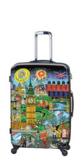 Heys USA Luggage Fazzino London Lights 30 Inch Hardside