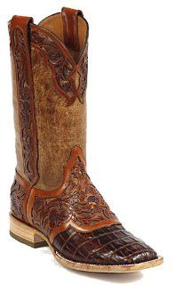 Black Jack Hand Tooled Cowboy Boots #HT122 Shoes