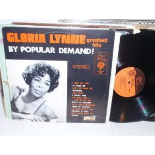 GLORIA LYNNE By Popular Demand LP Paul Winley 122