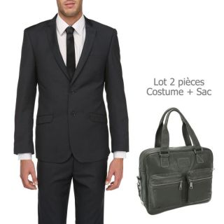 TORRENTE COUTURE Costume + Sac Homme Anthracite   Achat / Vente
