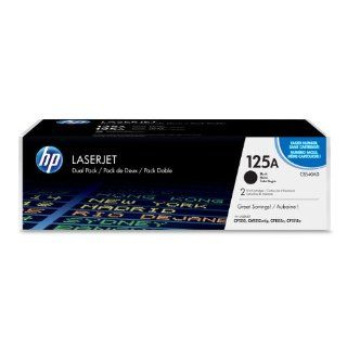 HP CB540AD Laserjet 125A Dual Cartridge   Retail Packaging