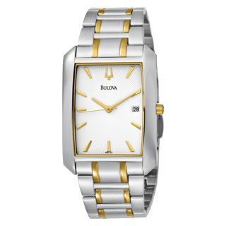 Bulova Mens Stainless Steel Automatic Watch