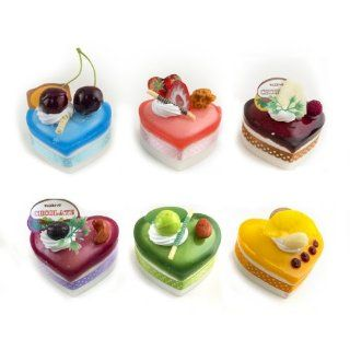 Iparty123 3D Refrigerator Fridge Magnet Fake Food Heart