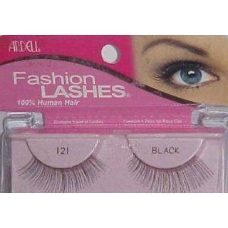 ARDELL 100% HUMAN HAIR FULL FALSE EYELASHES Black 121
