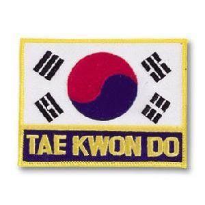 Korean Flag/Tae Kwon Do Patch