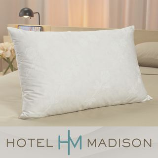 Hotel Madison Down Blend Medium Support Pillows (Set of 2)