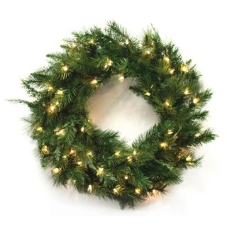 Good Tidings 140 Tip 30 inch Wreath Cascade