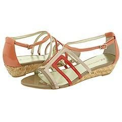 AK Anne Klein Asif Light Pink Multi Synthetic Sandals