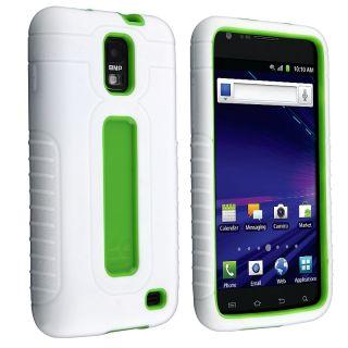 White/ Green Duo Shield Case for Samsung Skyrocket i727