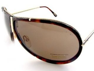 BROWN LENS & rose gold/dark Havana FRAME SIZE 72 8 125 Clothing