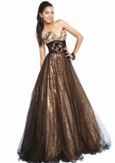 Jovani 71565, Metallic Strapless Dress Clothing