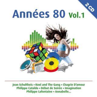 ANNEES 80 VOL 1   Compilation   Achat CD COMPILATION pas cher